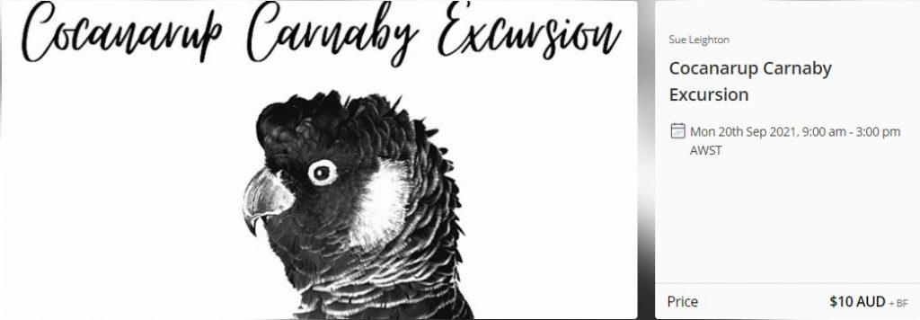 Cocanarup Carnaby Excursion 2021