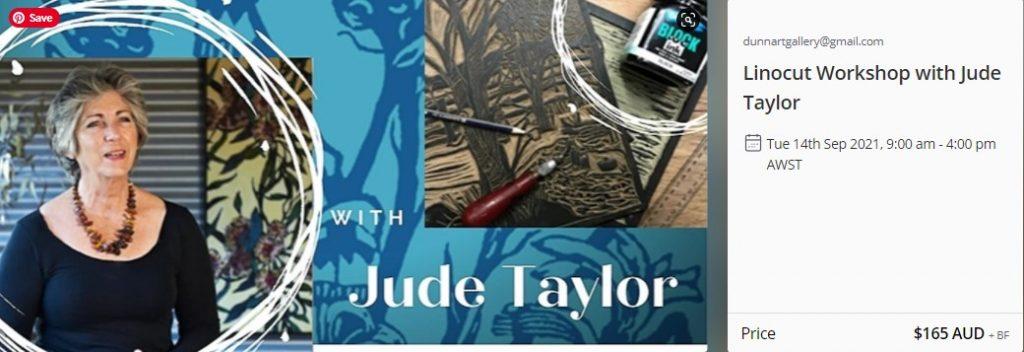 Jude Talyor Lino Cutting Workshop