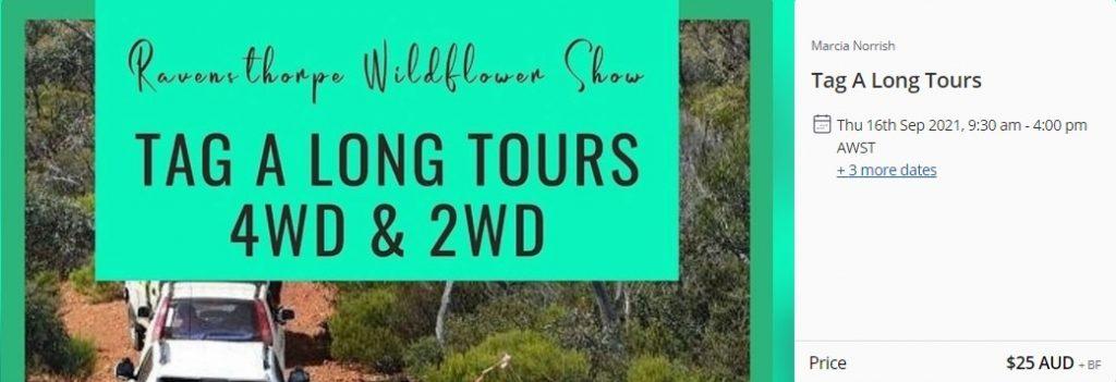 Ravensthorpe Wildflower Show Tag Along Tours