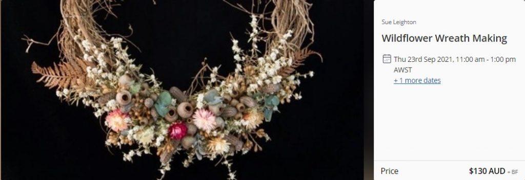 Wildflower Wreath making Workshop